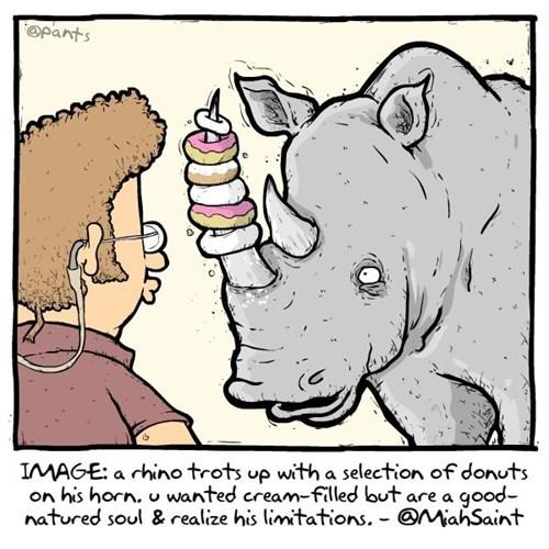 donuts,limitations,rhino,horn