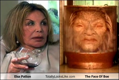 Elsa Patton Totally Looks Like The Face Of Boe