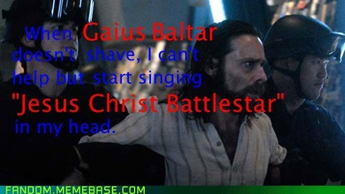 Jesus Christ, Battlestar