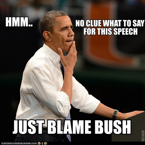 When Obama's Got Nothing Else to Say...