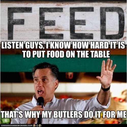 Romney is so relatable...