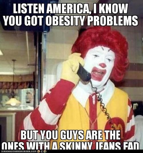 Ronald McDonald Logic