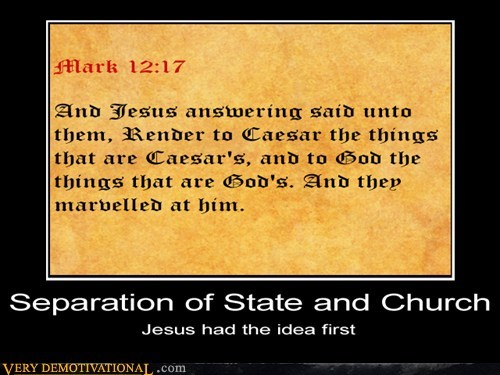 jesus,separation of church and state,bible