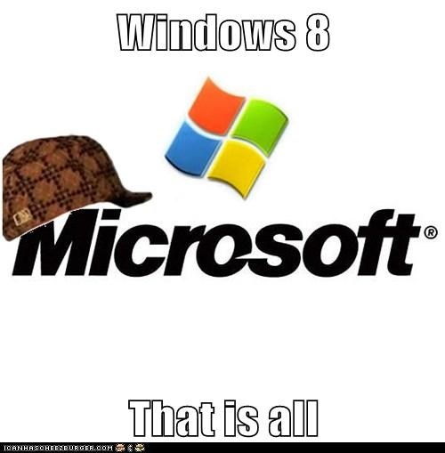 Windows 8  That is all