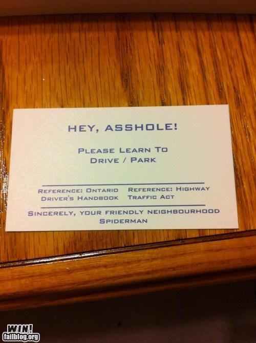 business card,burn,parking