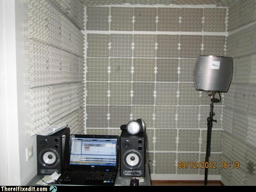 recording studio,studio,insulation,Finland,soundbooth