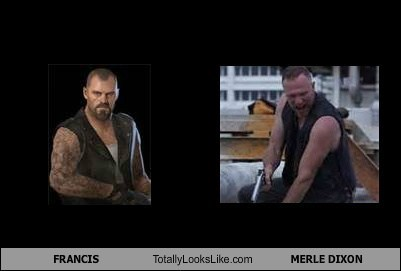 FRANCIS Totally Looks Like MERLE DIXON