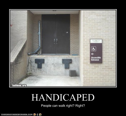 HANDICAPED