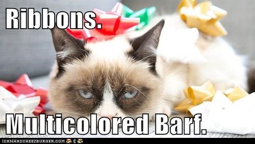 Ribbons.  Multicolored Barf.