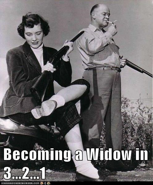 Becoming a Widow in 3...2...1