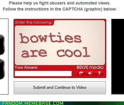 Captcha is Cool
