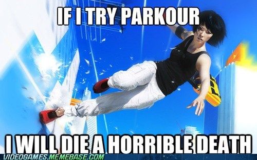 parkour,Hardcore Parkour,mirrors edge