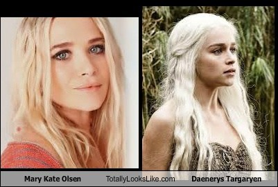 Mary Kate Olsen Totally Looks Like Daenerys Targaryen
