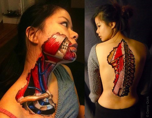 art,body paint,illusion,g rated,win