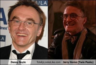 Danny Boyle Totally Looks Like Jerry Horne (Twin Peaks)