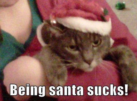 Being santa sucks!