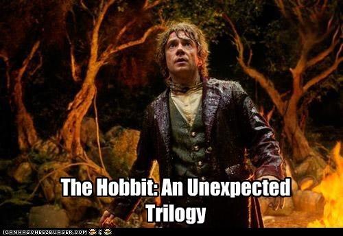trilogy,Martin Freeman,Bilbo Baggins,unexpected,The Hobbit