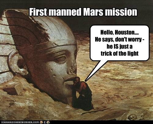 face,life,man,statue,Mars