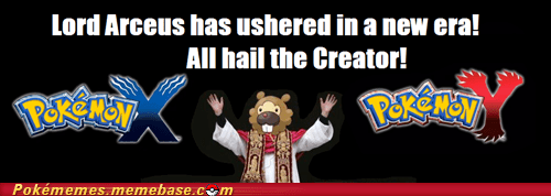 and on the 8th day, Arceus created Gen VI