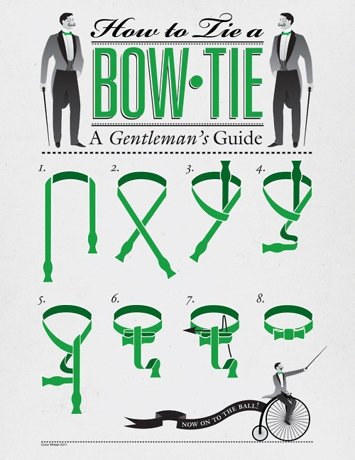 diagram,How To,bow ties