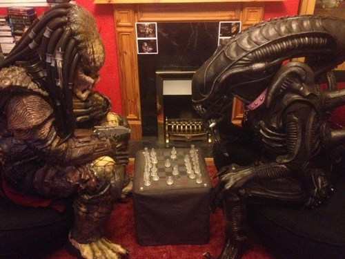 Alien vs Predator British Style
