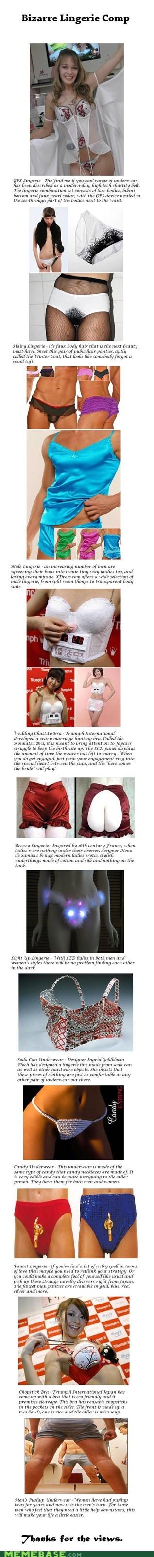 Bizarre Underwear