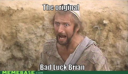 monty python,bad luck brian,the life of brian
