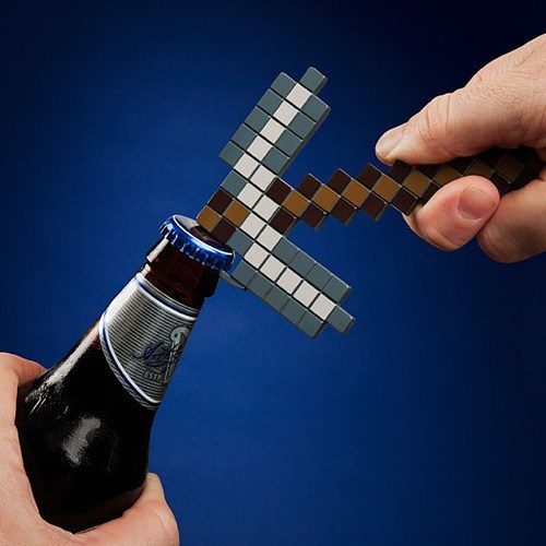 Sloshed Swag: The Minecraft Bottle Opener