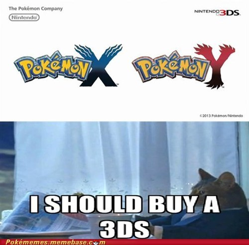Pokémon X and Y are on the 3DS?