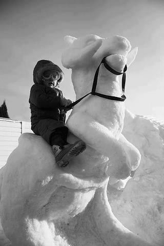 star wars,snow,Hoth,nerdgasm,parenting,tauntaun,g rated,win