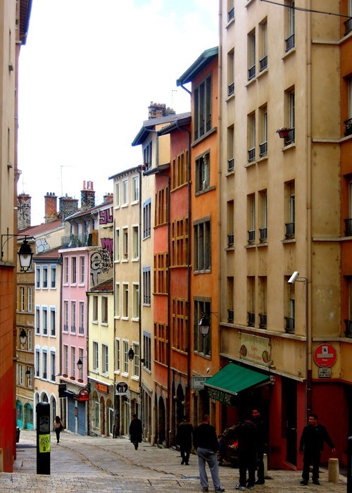 The Streets of Lyon, France