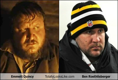 Emmett Quincy Totally Looks Like Ben Roethlisberger