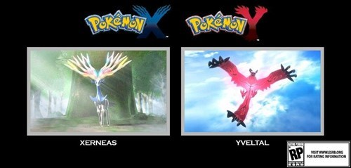 X and Y Legendaries Names Revealed!