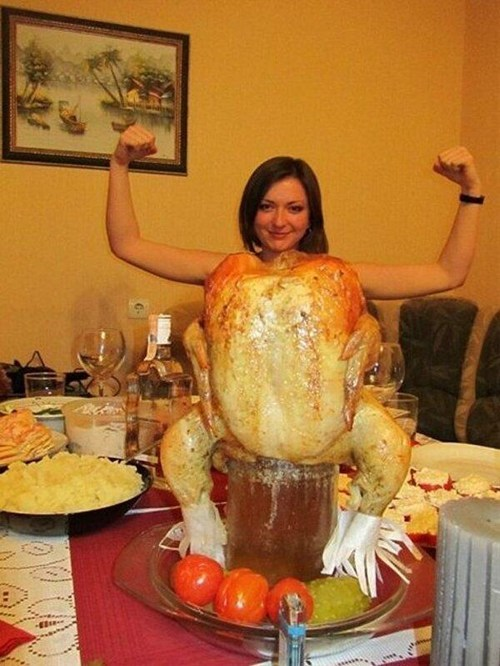 One Buff Turkey