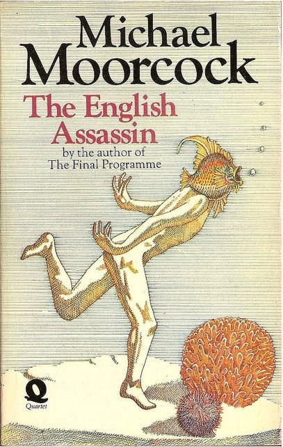 WTF Sci-Fi Book Covers: The English Assassin