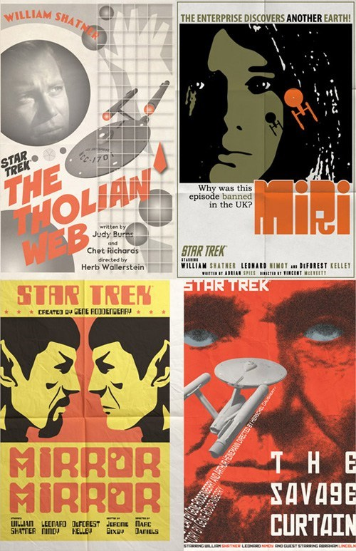Star Trek Episode Posters: Set Six