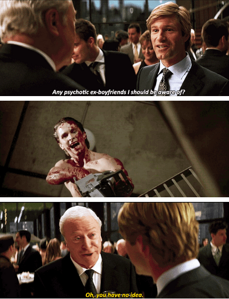 aaron eckhart,Movie,actor,michael caine,comic,the dark knight,christian bale,funny