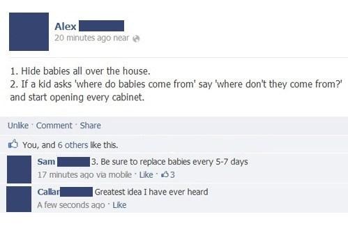 Babies,kids,facebook