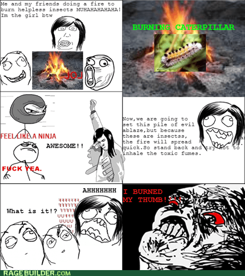 F***ing fire Rage!