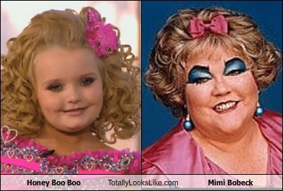Honey Boo Boo Totally Looks Like Mimi Bobeck