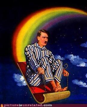 magic carpet ride,rainbow,hitler