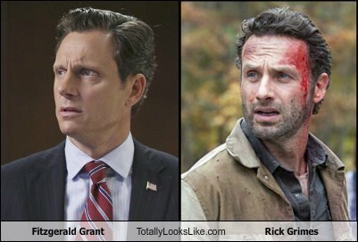 Fitzgerald Grant Totally Looks Like Rick Grimes