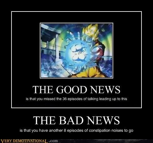 bad news,Dragon Ball Z,goku