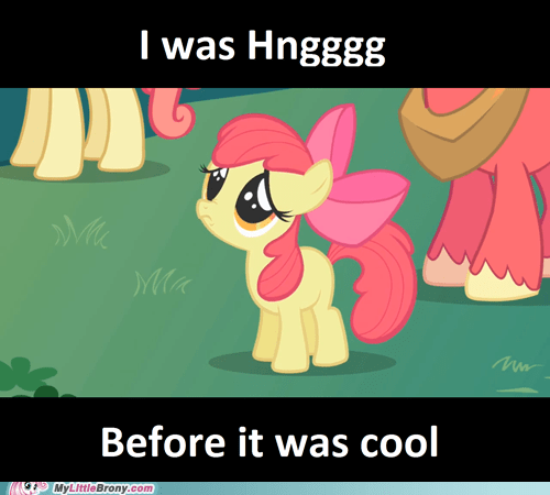 Hipster Apple Bloom