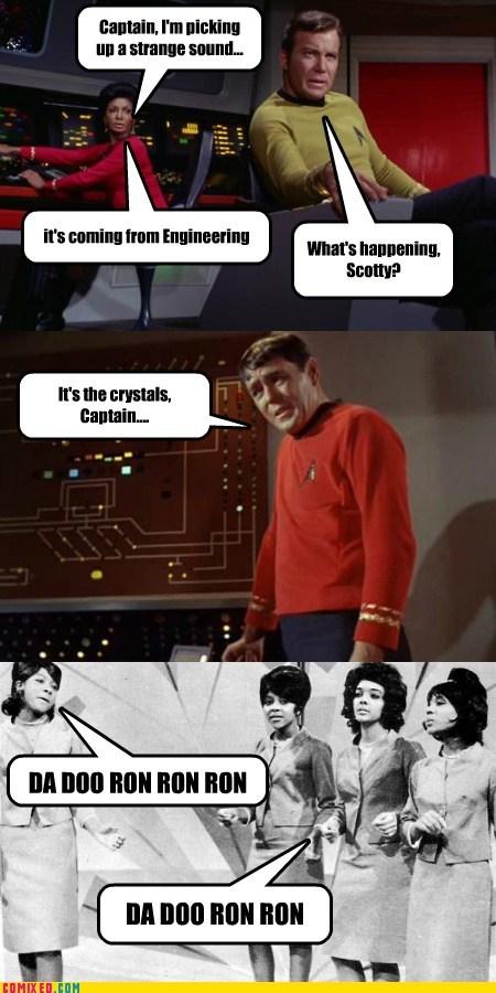 Captain Kirk,crystals,TV,Star Trek