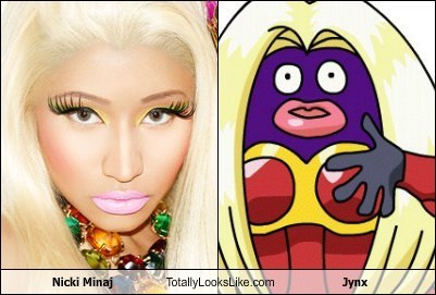 Nicki Minaj Totally Looks Like Jynx