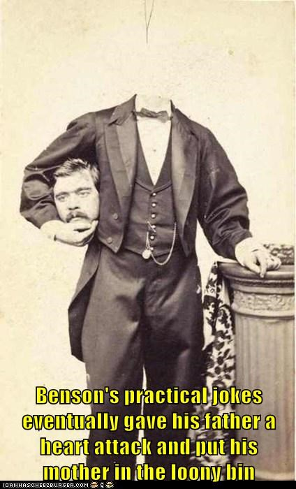 Naughty Benson