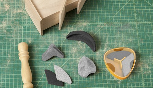 Malleable Sanding Blocks For Odd-Shaped Projects