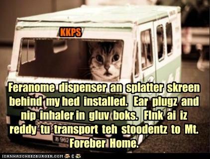 KKPS Winter Splortz - Bus Driver Checklist