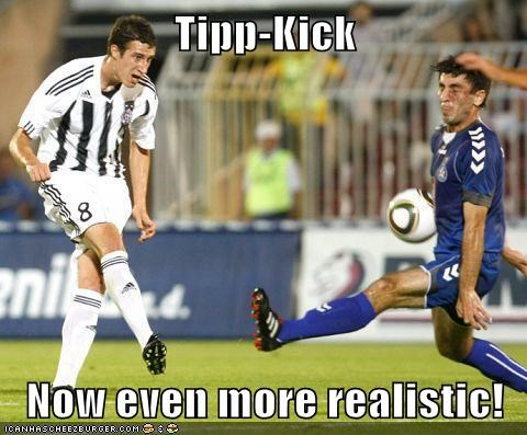 Tipp-Kick  Now even more realistic!